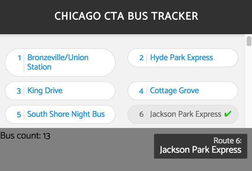 CanJS - CTA Bus Map (Medium)